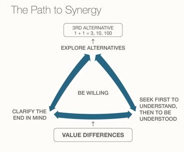 Dunamis - 7 Habit (H6) path to synergy